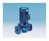 Cast iron in-line centrifugal pumps, single and twin versions
