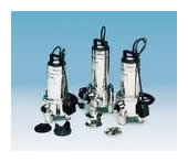 Submersible pumps with entrained solids