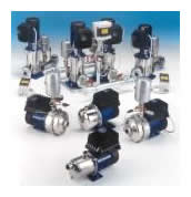 GTKS, TKS and HVW (HYDROVAR WATERCOOLED) - Series of Variable Speed Electric Pumps and Pressure Booster Units