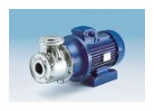 Centrifugal pumps manufactured in AISI 316 stainless steel in compliance with EN 733 - DIN 24255